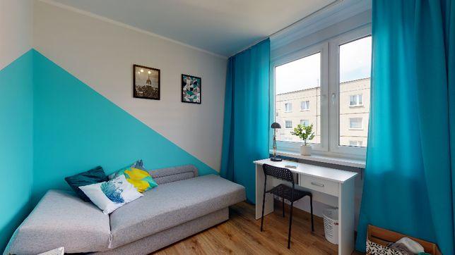 Komfortowy pokój do wynajęcia, kampus A UZ, dwie osobne toalety!!!