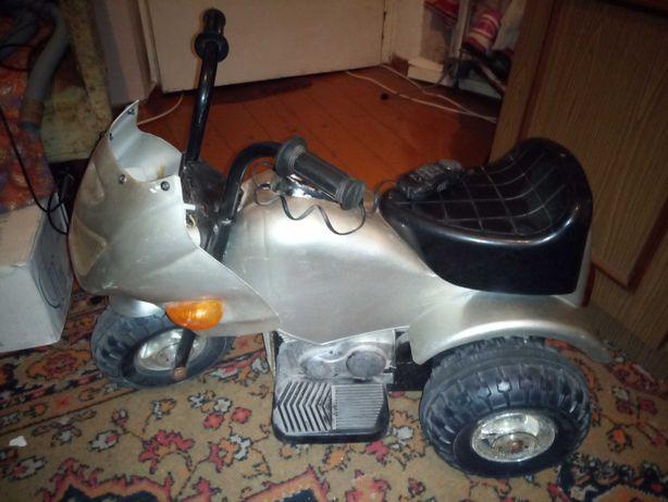Детский мотоцикл электромобиль