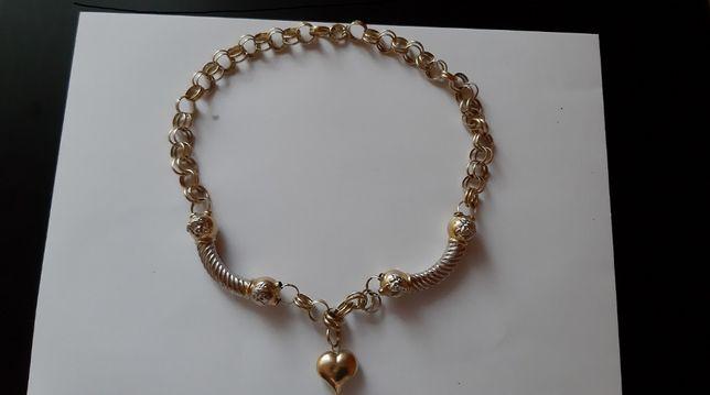 Złoty łańcuch damski VERSACE