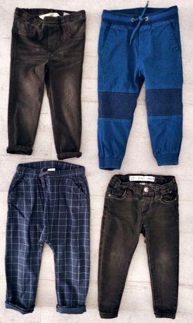 Spodnie chłopięce h&m, denim co 92-98