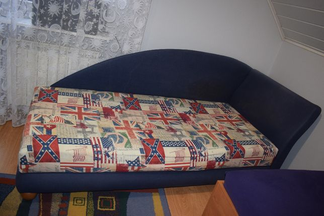 Tapczan jednoosobowe łóżko do pokoju dziecięcego