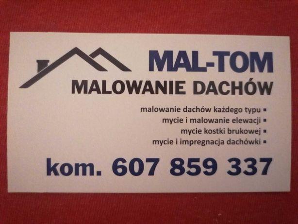 Mycie, Malowanie Dachów, Czyszczenie Dachówki Tarnów, małopolska