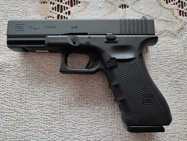 Wiatrówka Pistolet Glock 17 gen.4 Metal Slide 4,5 mm (5.8364)