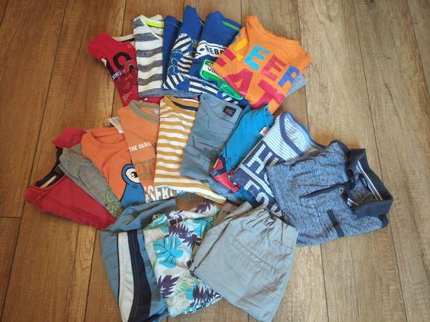 Zestaw ubrań dla chłopca 122