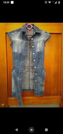 Tunika sukienka dziewczęca 5-10-15