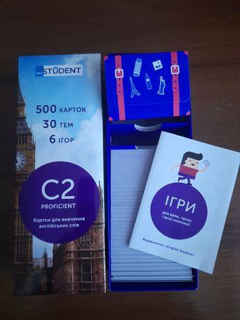 Картки для вивчення англійської мови C2-Proficient