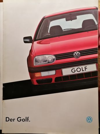 Prospekt VW Golf III