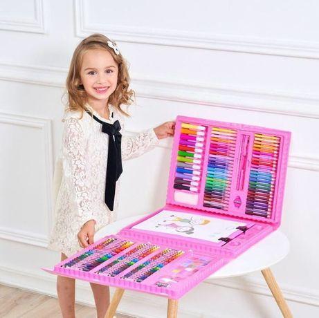 Набор для рисования детский Чемодан творчества 208 предметов Art Set