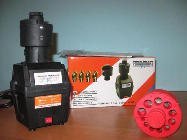 Уникальный станок для заточки сверл Euro Craft BG212 от 3 мм до 16 мм