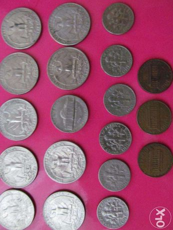 Продам монети США перевертиші,