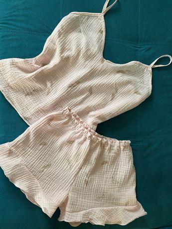 Пижама из муслина XS-S