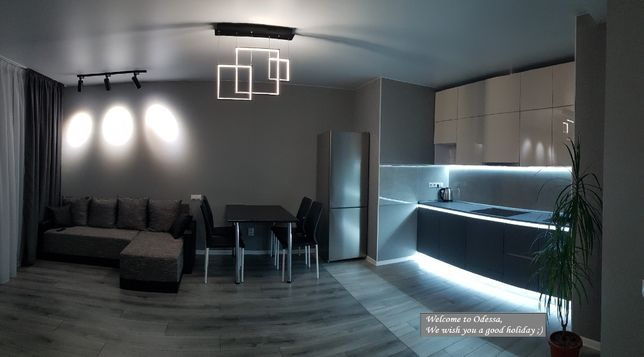 Сдам новую DeLux квартиру посуточно, почасово, Одесса
