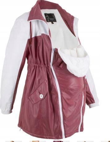 kurtka ciążowa ocieplona polarem 46
