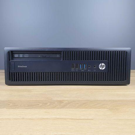 Компьютер HP EliteDesk 705 G2 SFF (A4 PRO-8350B/DDR3 4GB/SSD 120GB)