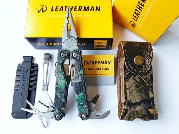 Leatherman Charge TTi Camo 3D (чехол, биты, клипса) - Эксклюзив!