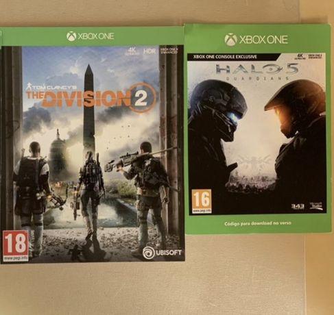 Halo 5 e Division 2 - Xbox One e series