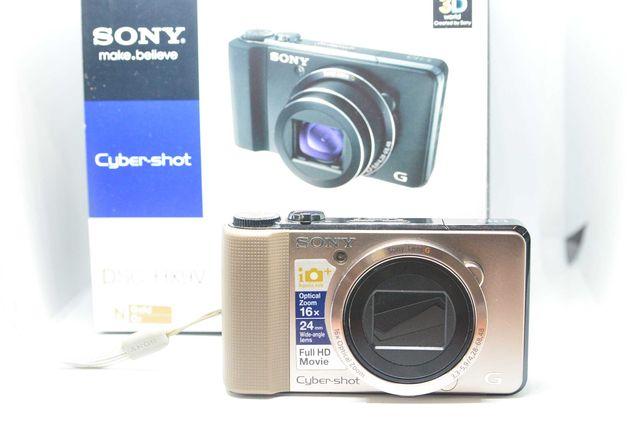 Aparat fptograficzny Sony DSC-HX9V 16,2Mpx 16xzoom filmy FHD GPS