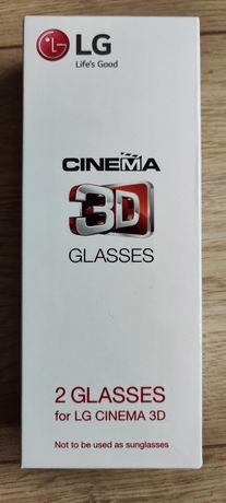 Nowe okulary Cinema 3d Glasses LG nigdy nieużywane
