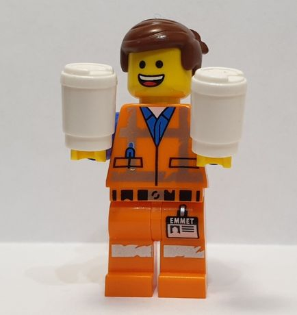 LEGO Movie 2 Minifigurka tlm113 Emmet - Smile / Scream Worn Uniform