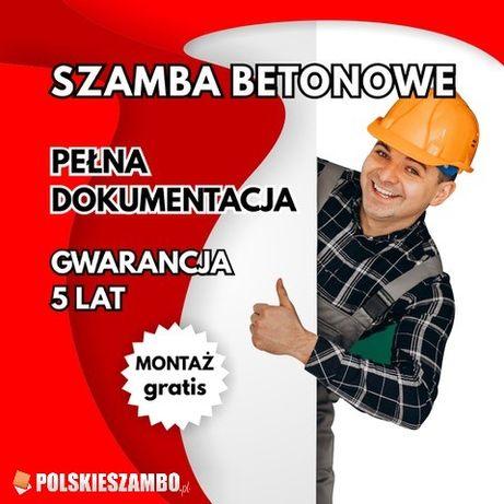 Zbiornik Betonowy Szambo Betonowe SZCZELNE Kanał Piwniczka PRODUCENT