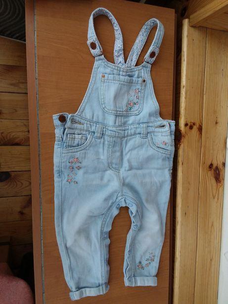 Комбинезон джинсовый Next (9-12 месяцев)