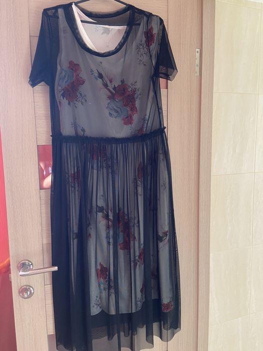 Платье сетка zara Одесса - изображение 1