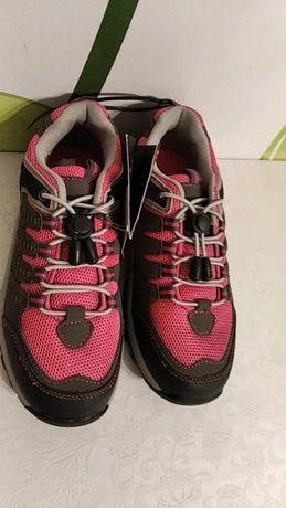 Buty trekkingowe 33 NOWE różowe dla dziewczynki