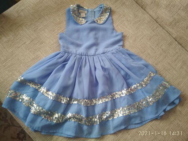 Нарядное платье Monsoon, новое, на 3 года, платье для девочки