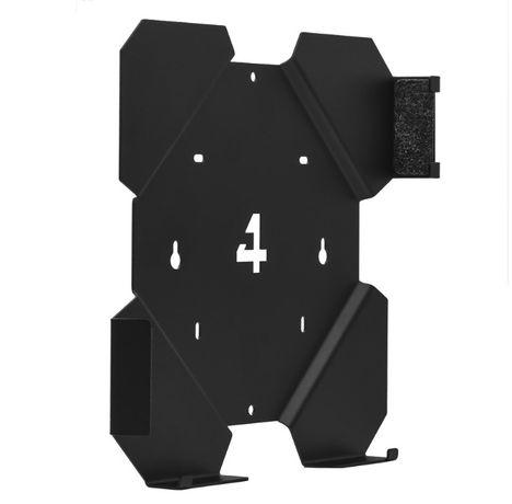 Zestaw uchwytów 4MOUNT do konsoli PS4 Slim Czarny