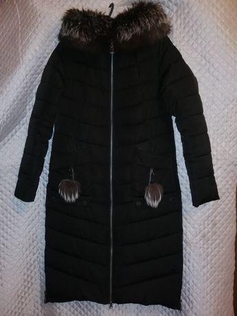 Зимний пуховик Meajiateer 42-44 размер халофайбер куртка пальто