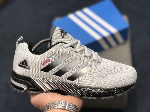 Мужские кроссовки Adidas Springblade серые,41,42,43,44,45,46,адидас