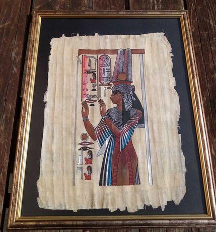 Obrazy egipskie papirusy