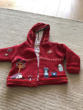 Sweter marki Next 12-18 mc 86 cm