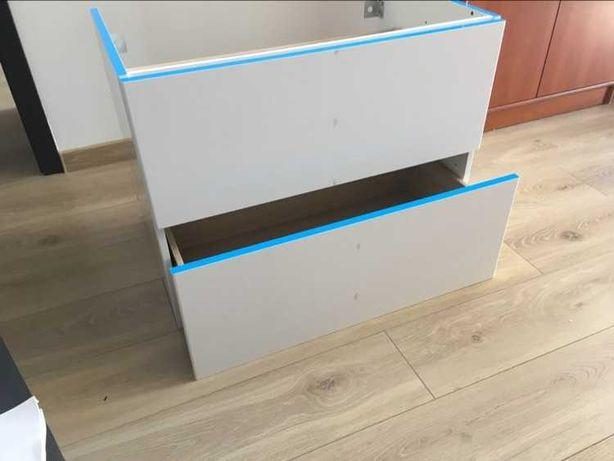 2 nowe białe szafki łazienkowe SENSEA Remix