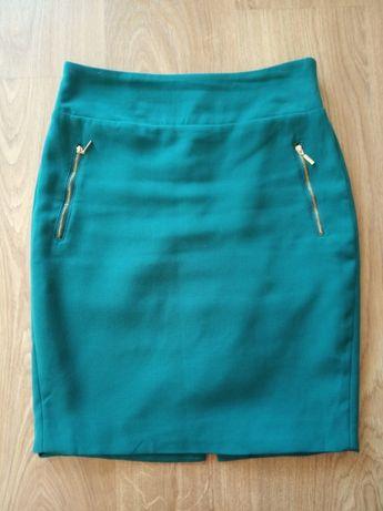 Spódnica Reserved zielona 38