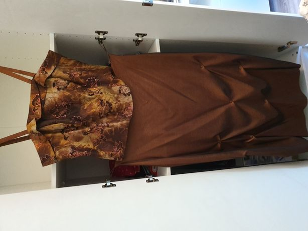 Spódnica + gorset rozmiar 54