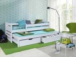 Łóżko niskie dwuosobowe