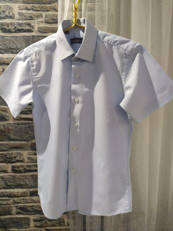 Рубашка короткий рукав- шведка на 9-10 лет
