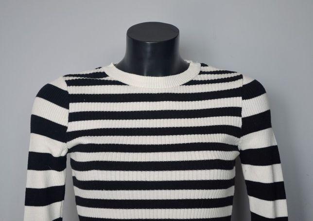 Forever 21 sweterek w paski S/M