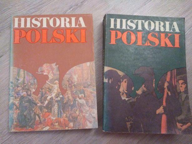 Historia Polski. dwie części.