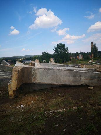Tetki betonowe Silos 5m Mur Oporowy ściana oporowa Tetka