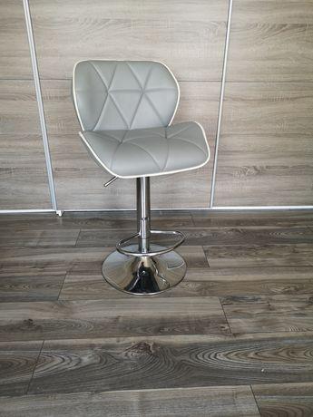 Krzesło hoker szary