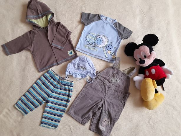 Zestaw ubrań dla chłopca 3-6 m-cy. Ubranka zakupione w US. Zestaw 4.