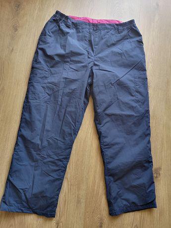 Mountain Warehouse spodnie zimowe trekingowe góry podszewka granatowe