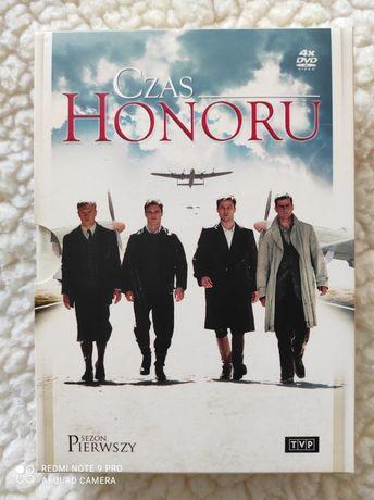 """,,Czas Honoru"""" sezon pierwszy DVD"""