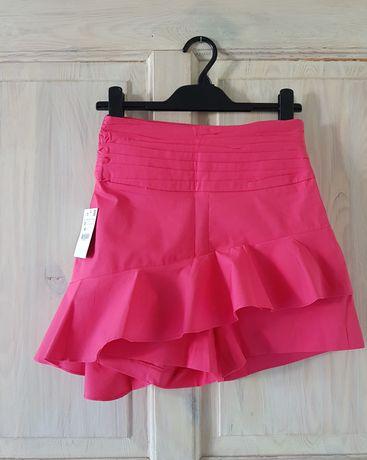 Różowe szorty spodenki Zara XS