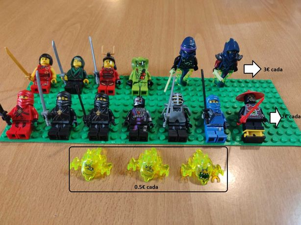 Lote minifiguras Lego Ninjago
