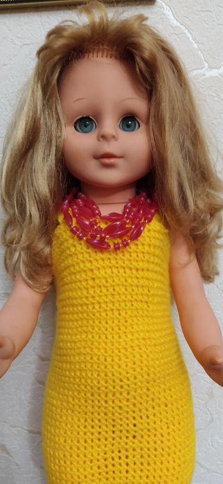 Большая кукла ГДР 60-70 г. Черкассы - изображение 1