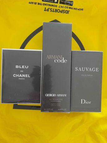 Perfumas chanel Armani Sauvage