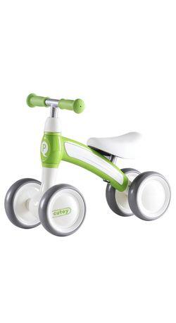 Беговел Qplay Cutey Green, велобег зеленый